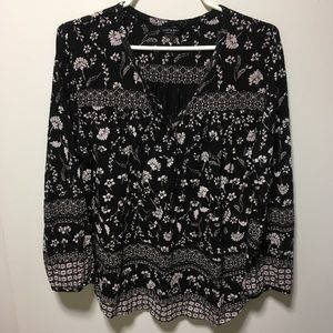 Lucky Brand Long Sleeve Top Size L